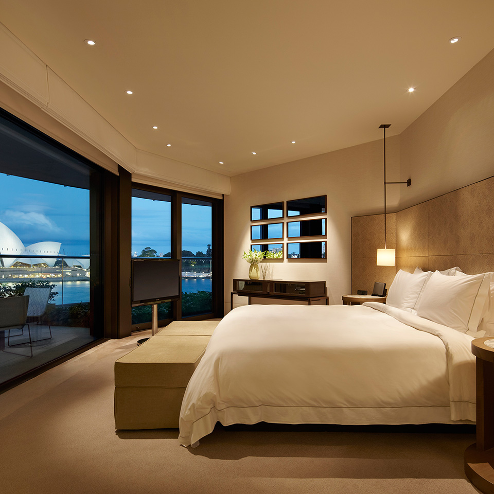 Sydney Suite Master Bedroom Park Hyatt