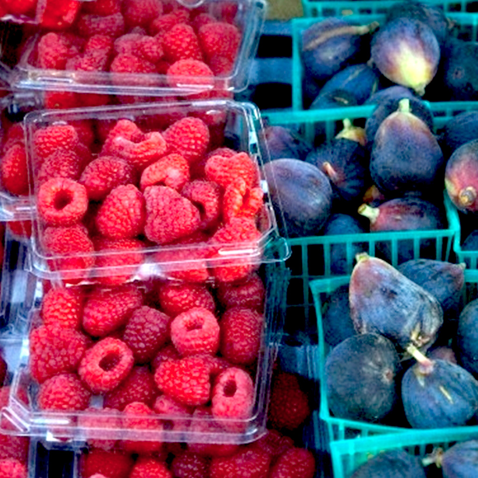 Raspberries from The Original Farmers Market LA