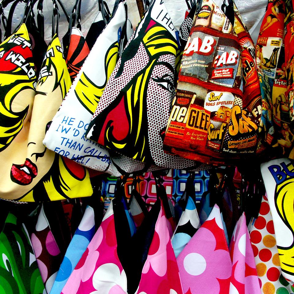 Camden Market bags