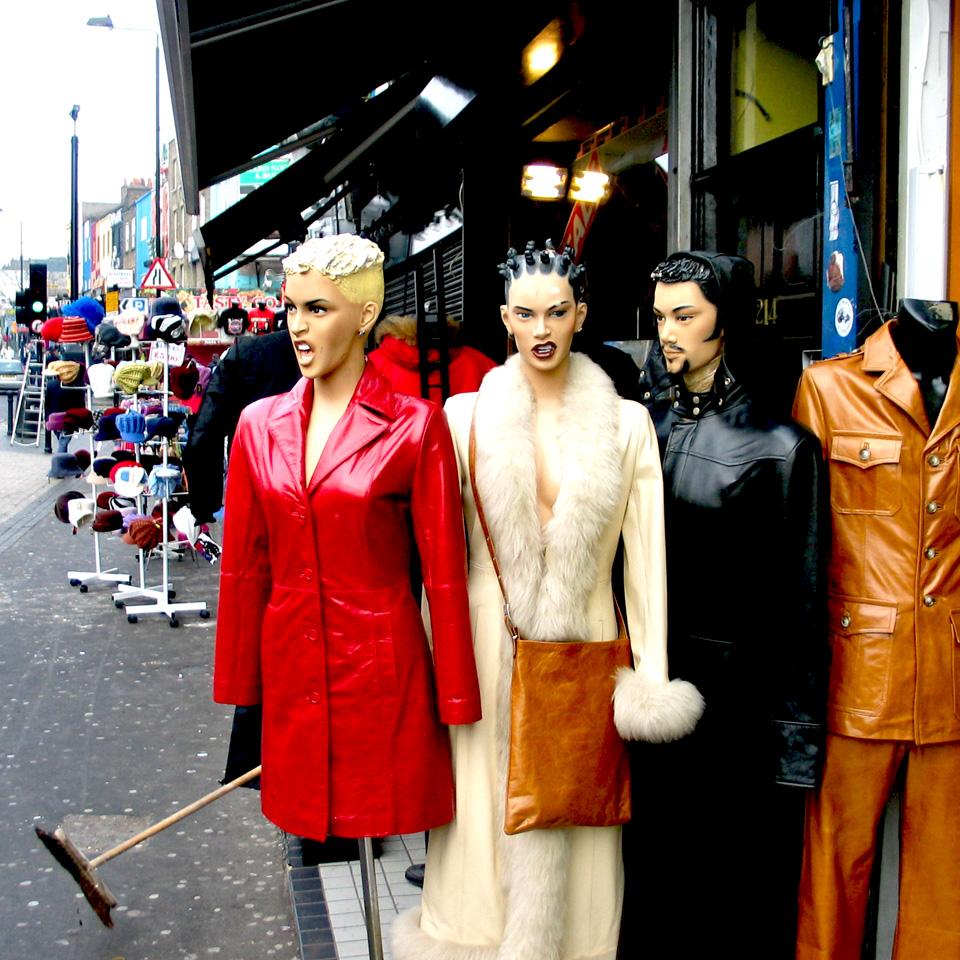 Camden Market mannequins