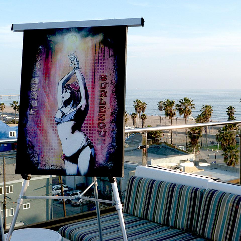 Hotel Erwin rooftop Venice Beach