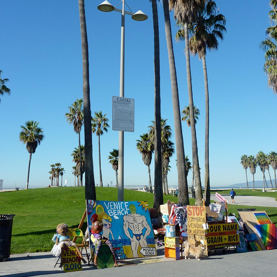 Venice Beach street posters