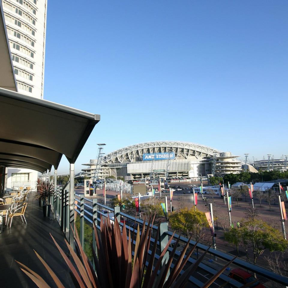 ANZ Stadium from Novotel Sydney Olympic Park