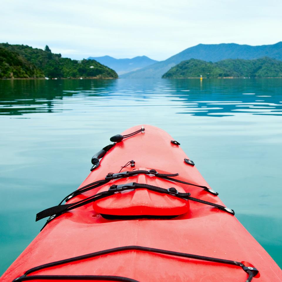 Kayak Marlborough Sounds