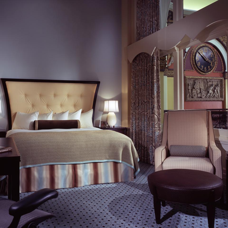 Bedroom Union Station Hotel Nashville