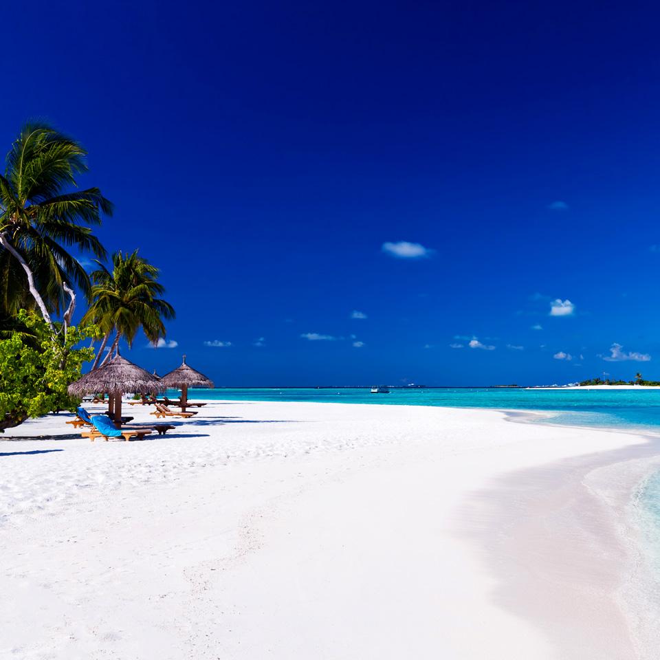 White sand beach Thailand