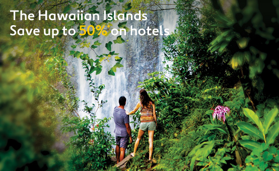 Save Up to 50% OFF The Hawaiian Islands Hotels at Expedia.com.au