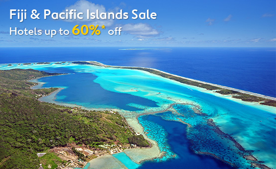 Save Up to 60% OFF Fiji & Pacific Islands Hotels Sale at Expedia.com.au