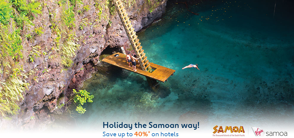 Save Up to 40% OFF On Hotels, Great Holiday The Samoan Way at Expedia.com.au