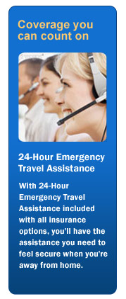 24-Hour Emergency Travel Assistance