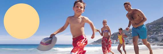 Spa� f�r gro� und klein, der Expedia.de Familienurlaub - Entspannung garantiert