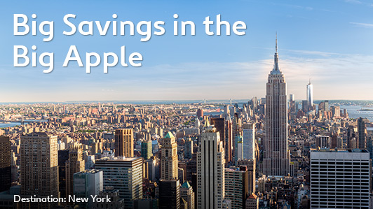 5-Day New York sale up to 30% off on hotels at Expedia.com.au