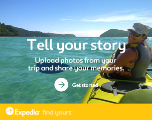 Tell your story. Upload photos from your trip and share your memories. Get started ›