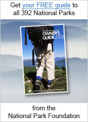 Get your FREE guide to all 391 National Parks from the National Park Foundation