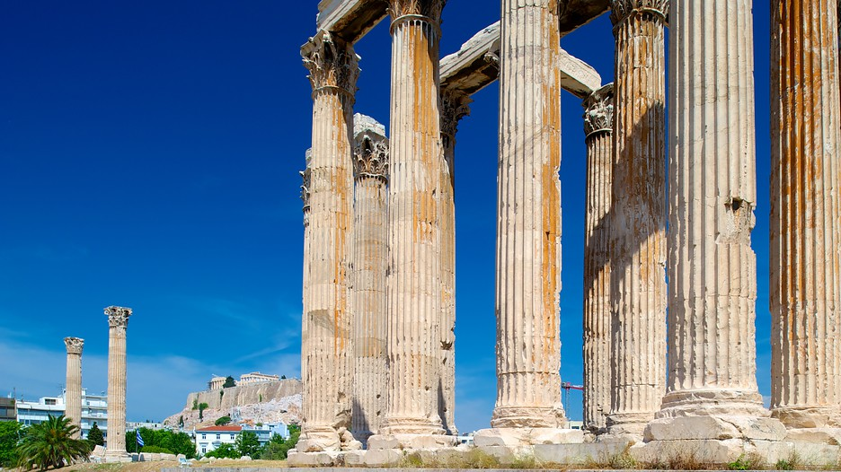 Temple of Olympian Zeus in Athens,  Expedia