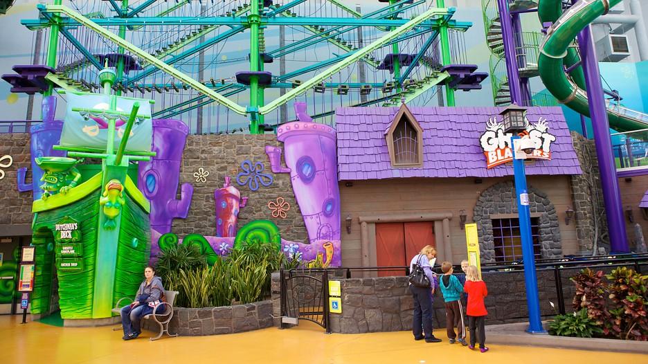 Nickelodeon Universe In Minneapolis St Paul Minnesota