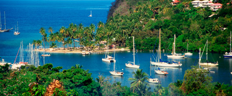 St. Lucia, alle Hotels