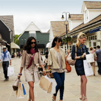 Chic Outlet Shopping Experience at Bicester Village