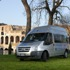 Shared Shuttle Transfer between Airport and Central Rome Hotels