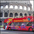 Stadt-Sightseeing: Hop-on, Hop-Off-Bustour in Rom
