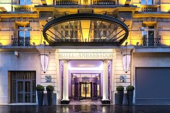tarifs reservation hotels Paris Marriott Opera Ambassador