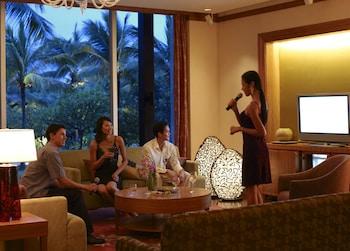 Shangri-La Mactan Karaoke Room