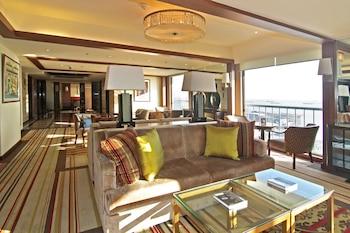 Manila Hotel Living Area