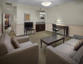 埃德蒙頓中央套房萬豪三角洲飯店