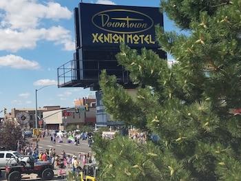 Downtown Xenion Motel in Laramie, Wyoming