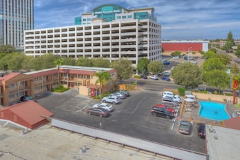 Travelodge Fresno Convention Center Area - Aerial View  - #0