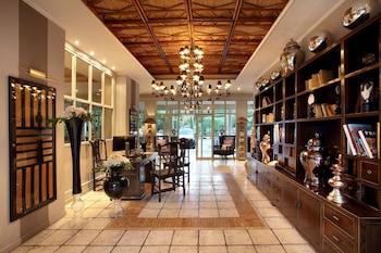 Hotel Saint Amour - La Tartane - Interior Entrance  - #0