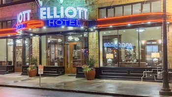 Hotel Elliott in Astoria, Oregon