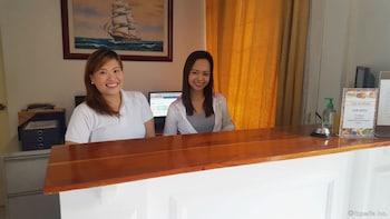 Makati Riverside Inn Reception