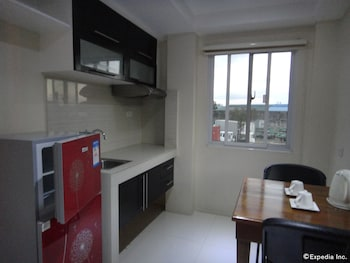 Grand Apartelle Cebu In-Room Kitchenette