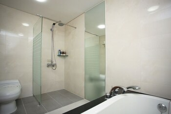 Jeju Ivy Hotel - Bathroom  - #0