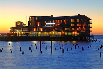Cannery Pier Hotel in Astoria, Oregon