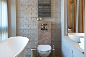 La Gioia Grey Stylish Apartments - Bathroom  - #0