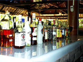 Purple Snapper Dive Resort Malapascua Sports Bar