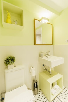 House by Pillow - Bathroom  - #0