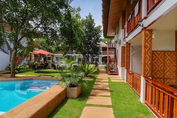 Scent Of Green Papaya Resort Bohol Terrace/Patio