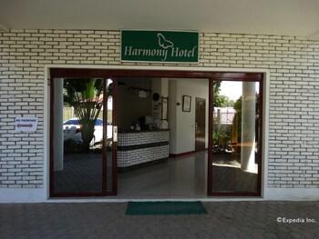 Harmony Hotel Bohol Hotel Entrance
