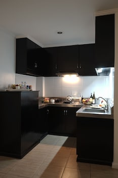 The Contemporary Hotel Quezon City In-Room Kitchenette