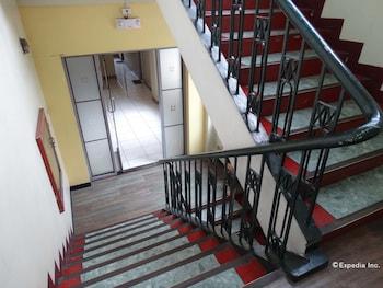 Golden Mango Inn Manila Staircase