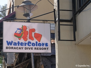 Watercolors Boracay Dive Resort Exterior