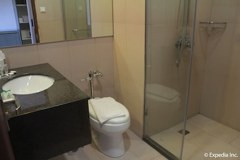 Newton Plaza Hotel Baguio Bathroom
