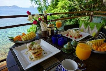 Vellago Resort El Nido Breakfast Area