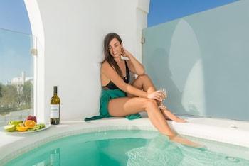 Aspronisi Luxury Villa - Outdoor Spa Tub  - #0
