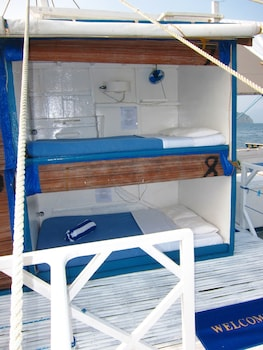 Palawan Secret Cruise Floating Hotel Guestroom