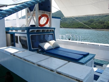 Palawan Secret Cruise Floating Hotel Sundeck