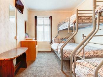 Family Triple Room, Shared Bathroom (Triple Bunk Bed)